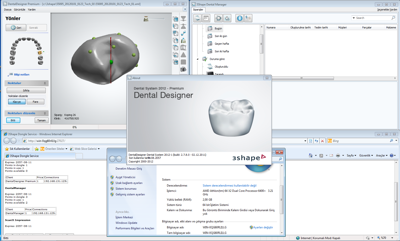 3shape Dental System 2 7 2012 Vip Software