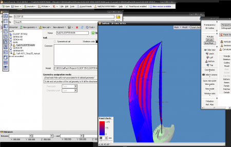 SailPack - Sail Design Software