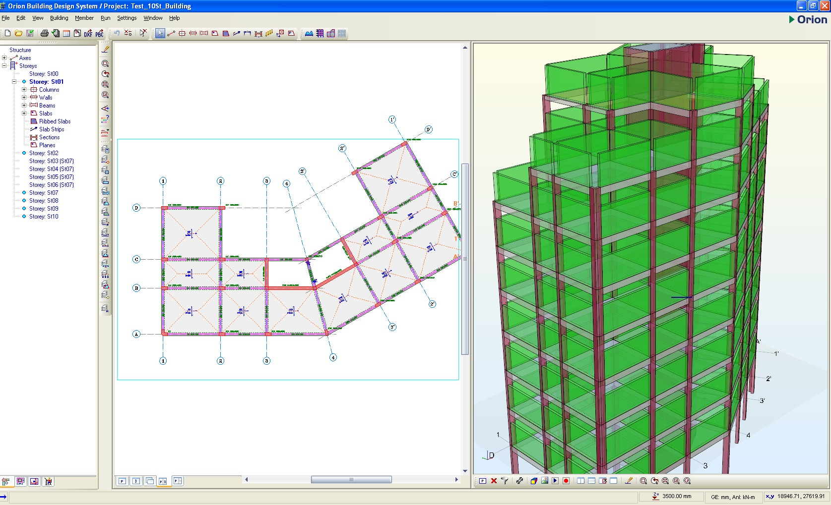 Orion building design system vip software for Building construction design software