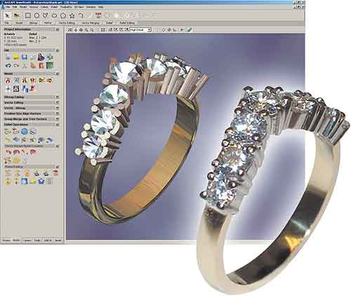 ArtCAM JewelSmith V9 126 » VIP SOFTWARE