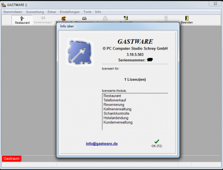 GASTWARE Matrix Dongle